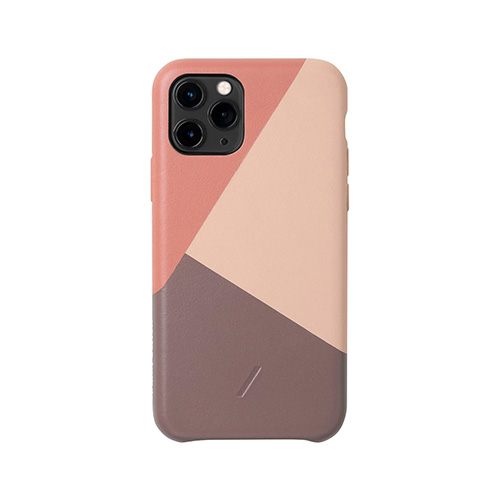 Native Union Marquetry Back Cover für iPhone 11 Pro, rose