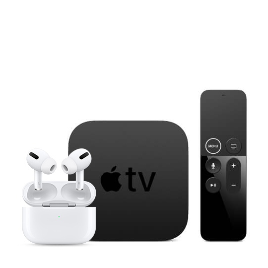Apple TV 4K AirPods Pro