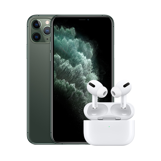 iPhone 11 Pro Max AirPods Pro