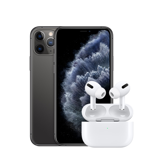 iPhone 11 Pro AirPods Pro