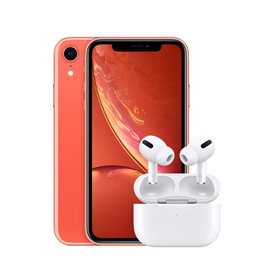 iPhone XR AirPods Pro