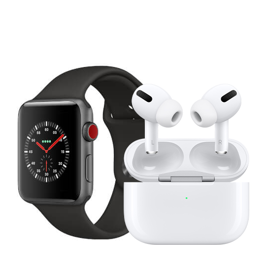 Apple Watch Series 3 AirPods Pro